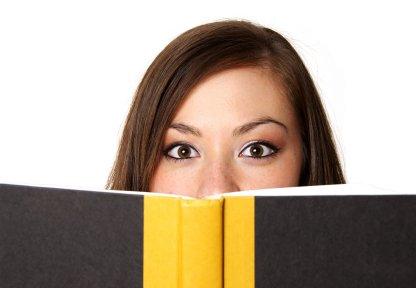 woman reading speechrighter inc