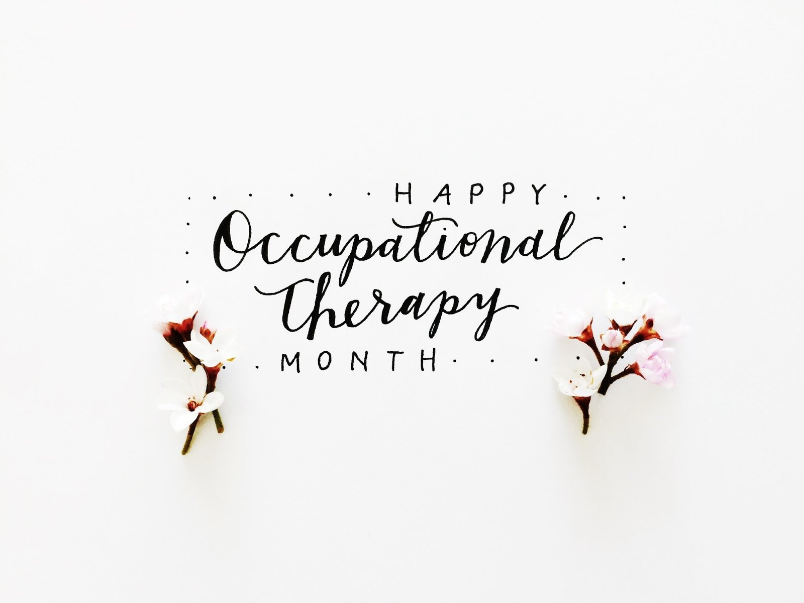 Happy National Occupational Therapy Month!